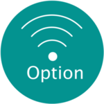 S icon wireless option